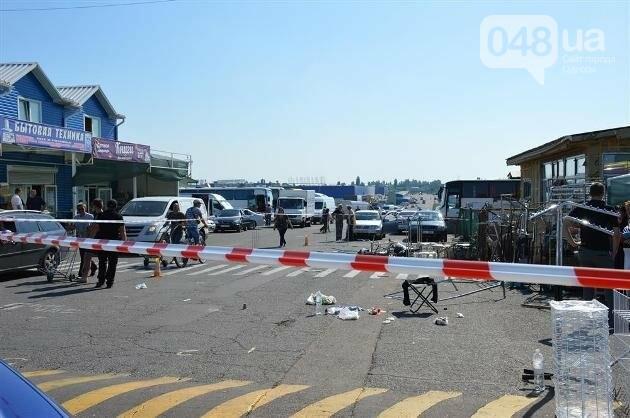 Подробности разбойного ограбления на одесском рынке (ФОТО), фото-1