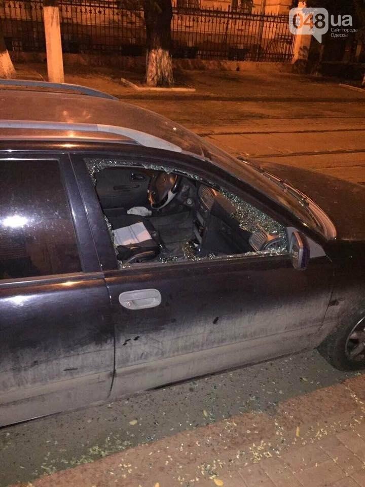 Курортный беспредел: В центре Одессы обчистили машину (ФОТО), фото-4