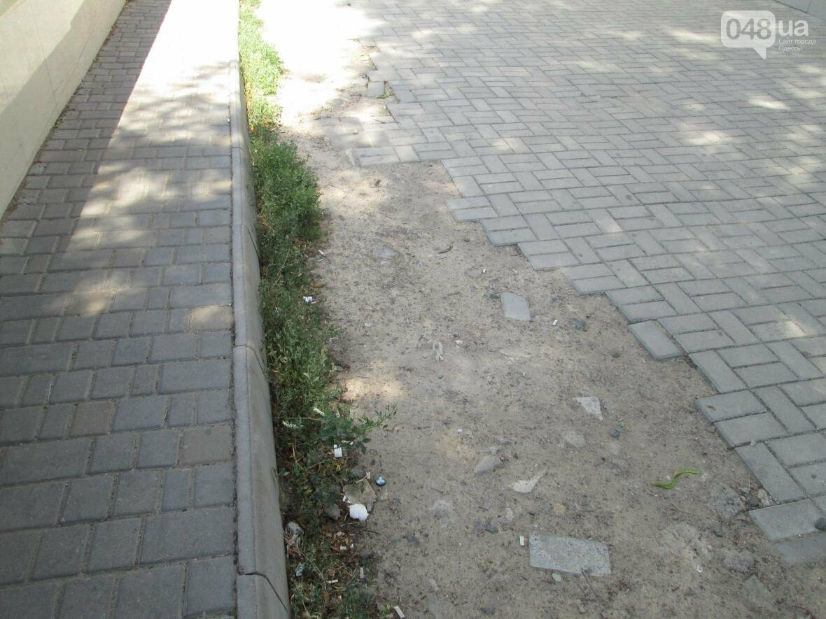 В центре Одессы коммунальщики не замечают свалку строительного мусора (ФОТО), фото-4