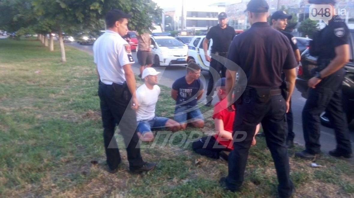 Ограбление казино: по Одессе устроили погоню за подозреваемыми (ФОТО), фото-3