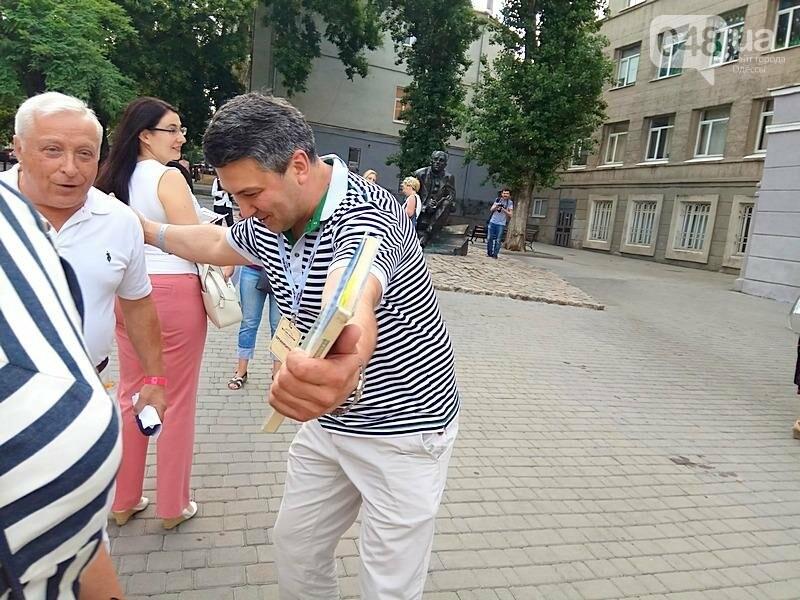 Одесситы устроили литературный флешмоб в честь Бабеля (ВИДЕО, ФОТО), фото-3