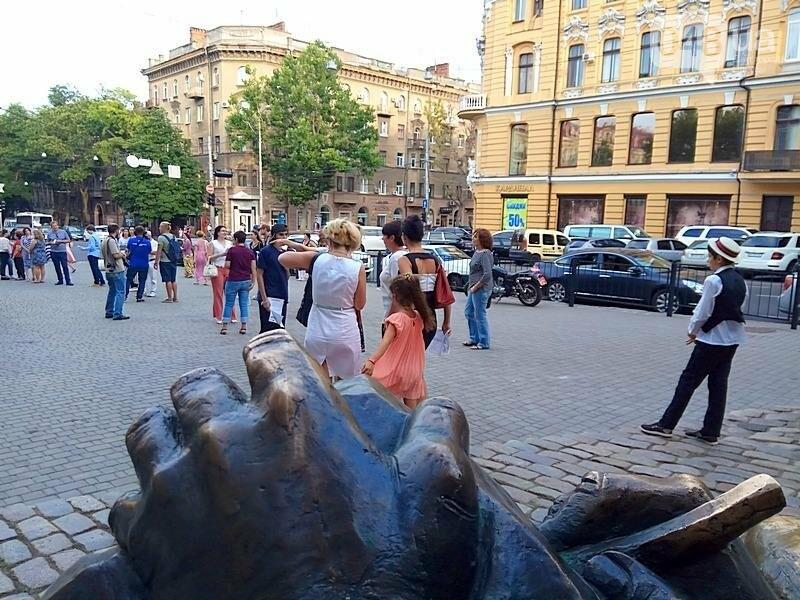 Одесситы устроили литературный флешмоб в честь Бабеля (ВИДЕО, ФОТО), фото-8