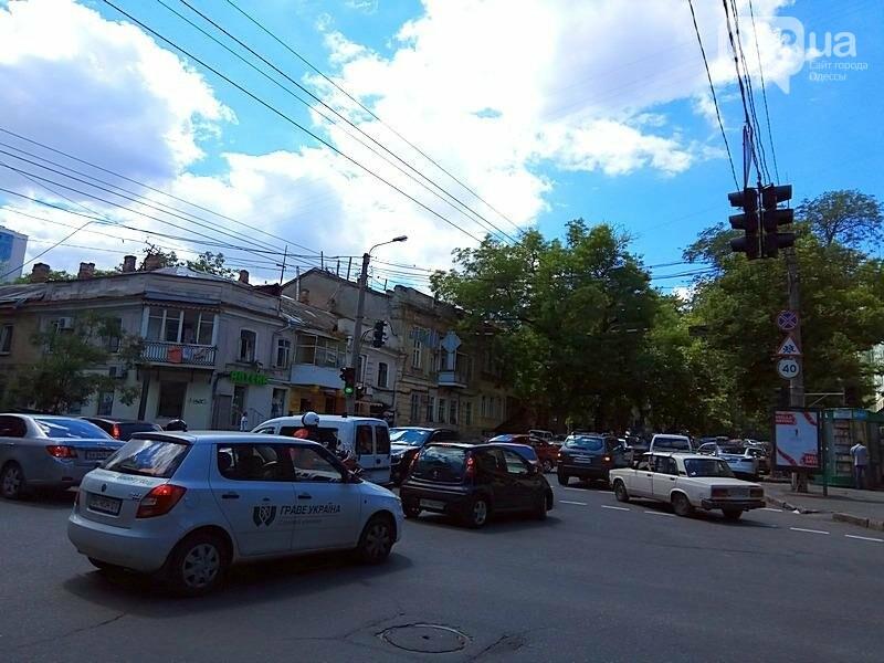 Из-за аварии в самом центре Одессы перекрыто движение (ФОТО), фото-1