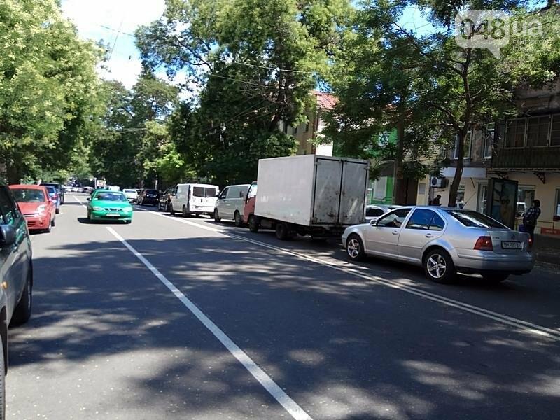 Из-за аварии в самом центре Одессы перекрыто движение (ФОТО), фото-6