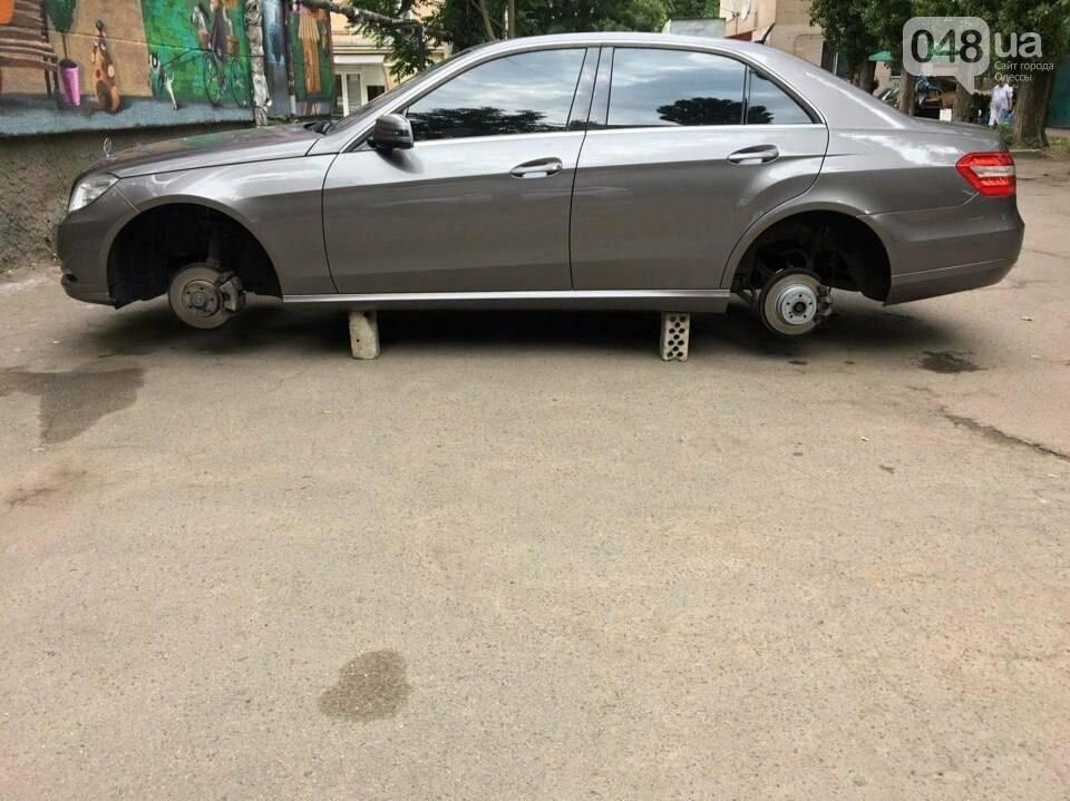 В Одессе на Фонтане обокрали машины (ФОТО), фото-2