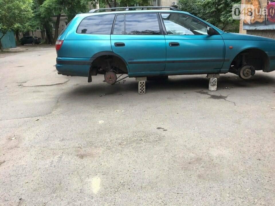 В Одессе на Фонтане обокрали машины (ФОТО), фото-4