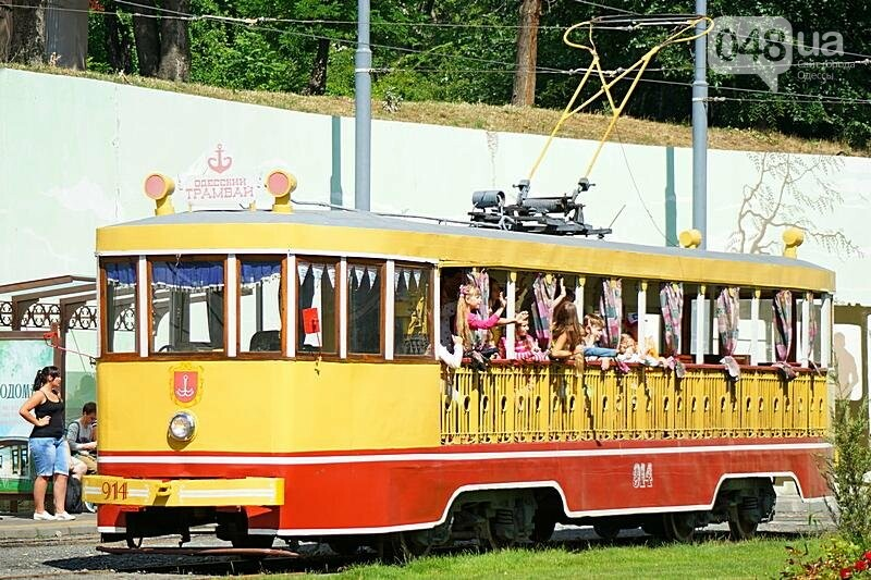По Одессе катали детей в ретро-трамвае (ВИДЕО, ФОТО), фото-4