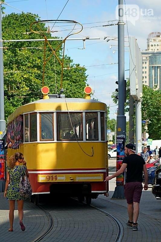 По Одессе катали детей в ретро-трамвае (ВИДЕО, ФОТО), фото-9