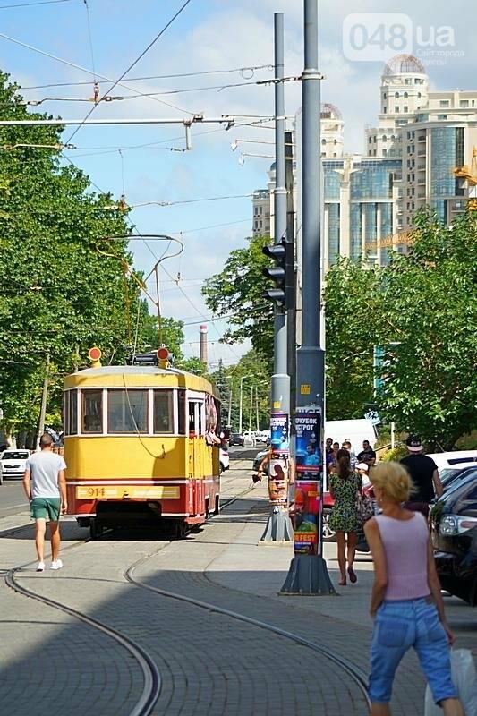 По Одессе катали детей в ретро-трамвае (ВИДЕО, ФОТО), фото-10