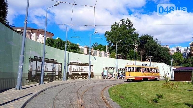 По Одессе катали детей в ретро-трамвае (ВИДЕО, ФОТО), фото-3