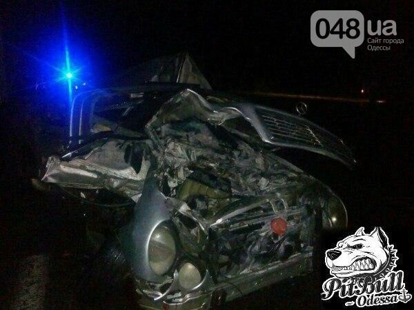 """На трассе """"Киев-Одесса"""" Mercedes смяло как консервную банку: водитель не выжил (ФОТО), фото-1"""