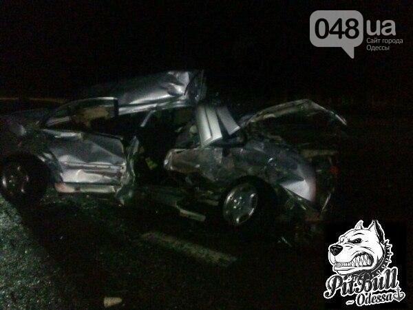 """На трассе """"Киев-Одесса"""" Mercedes смяло как консервную банку: водитель не выжил (ФОТО), фото-2"""