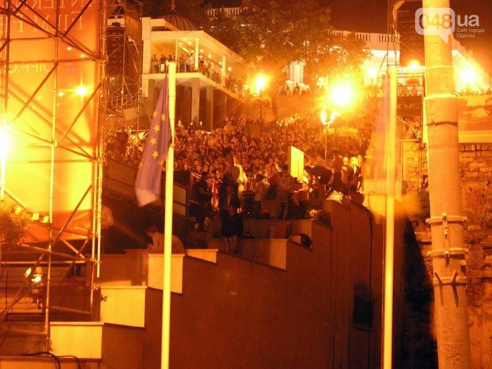 В Одессе черно-белый фильм собрал аншлаг на Потемкинской лестнице (ФОТО), фото-4