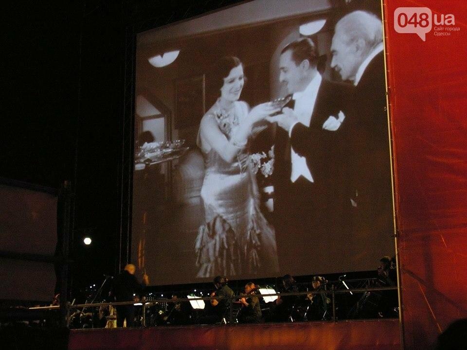 В Одессе черно-белый фильм собрал аншлаг на Потемкинской лестнице (ФОТО), фото-3