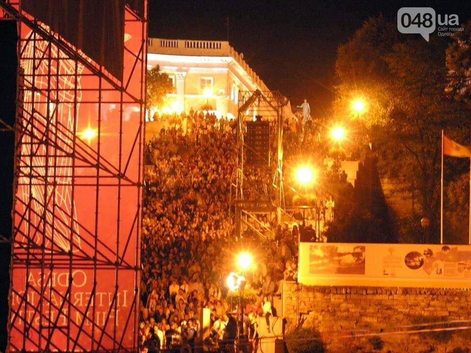 В Одессе черно-белый фильм собрал аншлаг на Потемкинской лестнице (ФОТО), фото-5