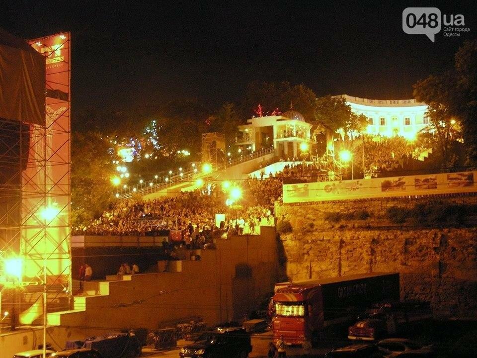 В Одессе черно-белый фильм собрал аншлаг на Потемкинской лестнице (ФОТО), фото-7