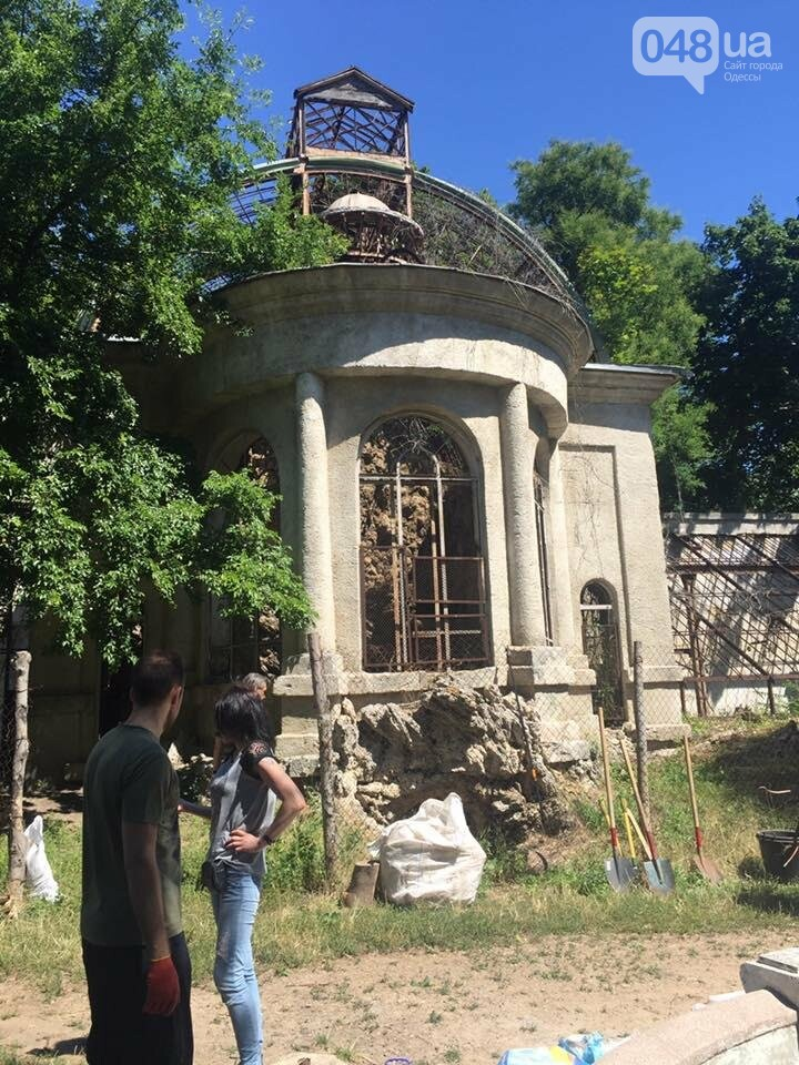 Как одесситы оранжерею Маразли спасали (ФОТО), фото-2