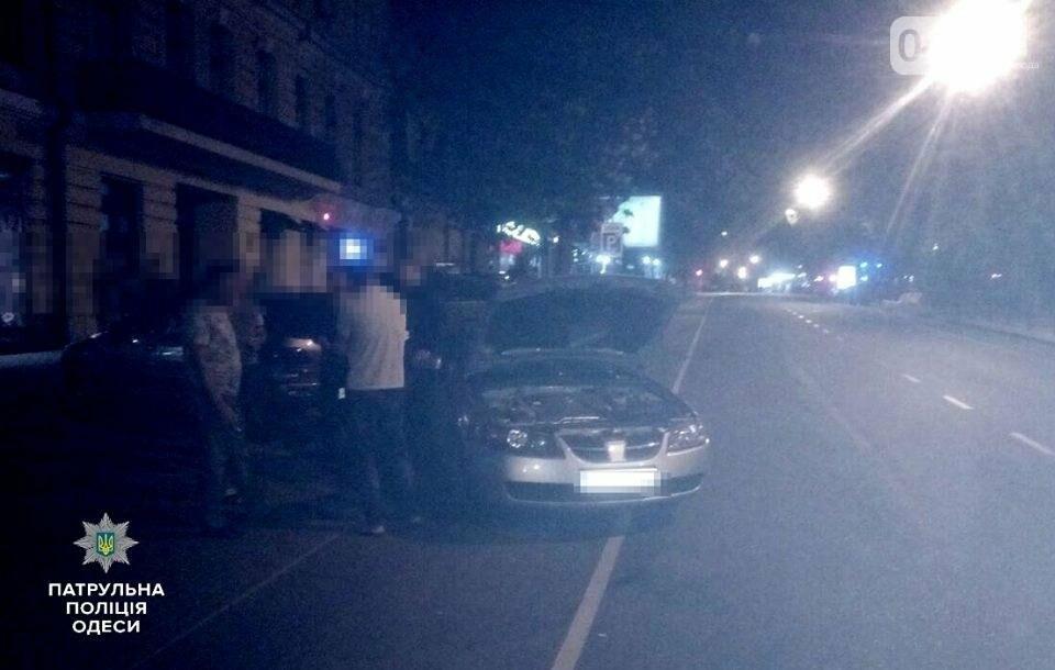 В центре Одессы ночью произошла тройная авария (ФОТО), фото-1