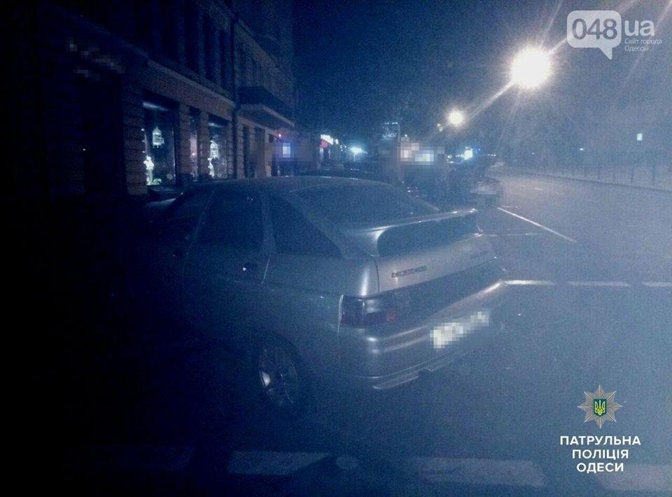 В центре Одессы ночью произошла тройная авария (ФОТО), фото-2