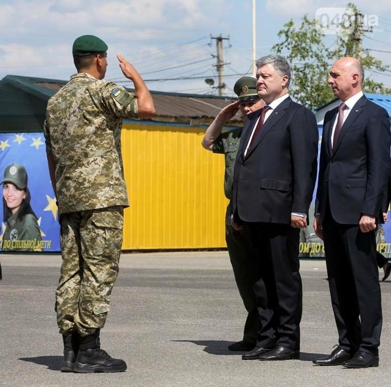 В Одесской области президент Украины и премьер Молдовы открыли совместный погранконтроль (ФОТО), фото-3