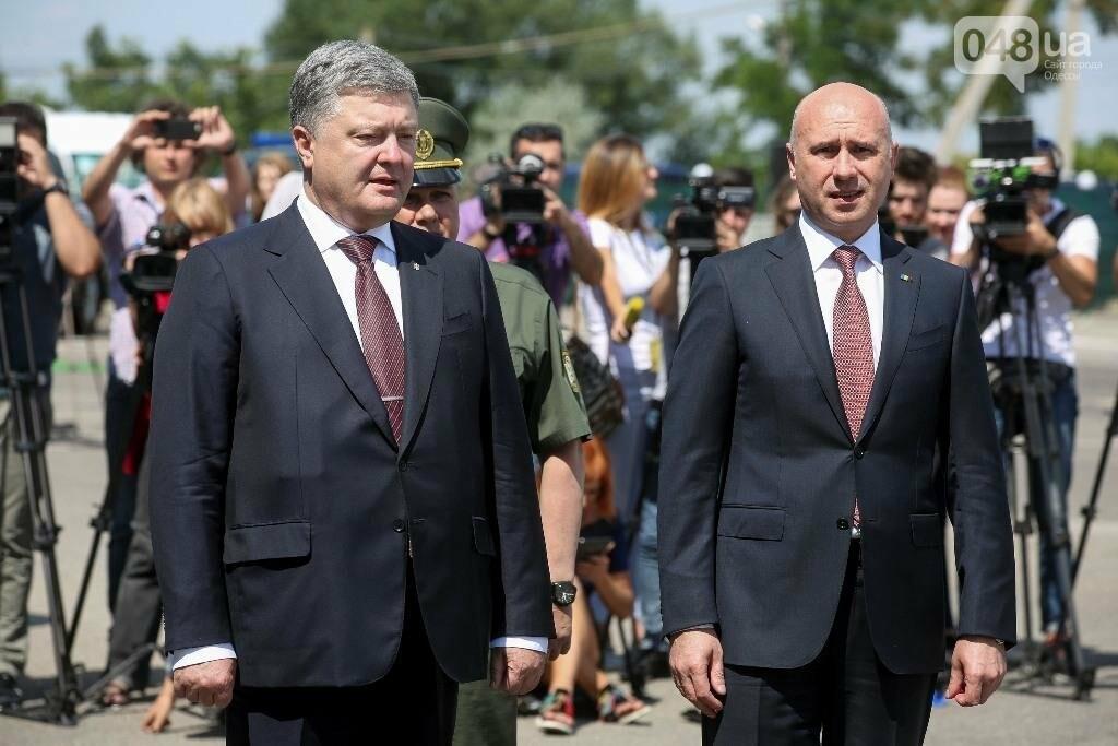 В Одесской области президент Украины и премьер Молдовы открыли совместный погранконтроль (ФОТО), фото-4