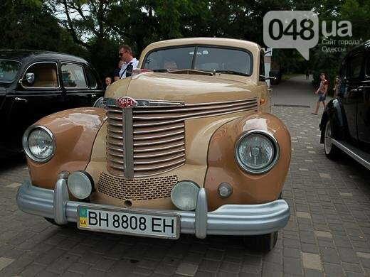 В Одесском парке показывали ретро-автомобили в честь 105-летия ралли (ФОТО), фото-8