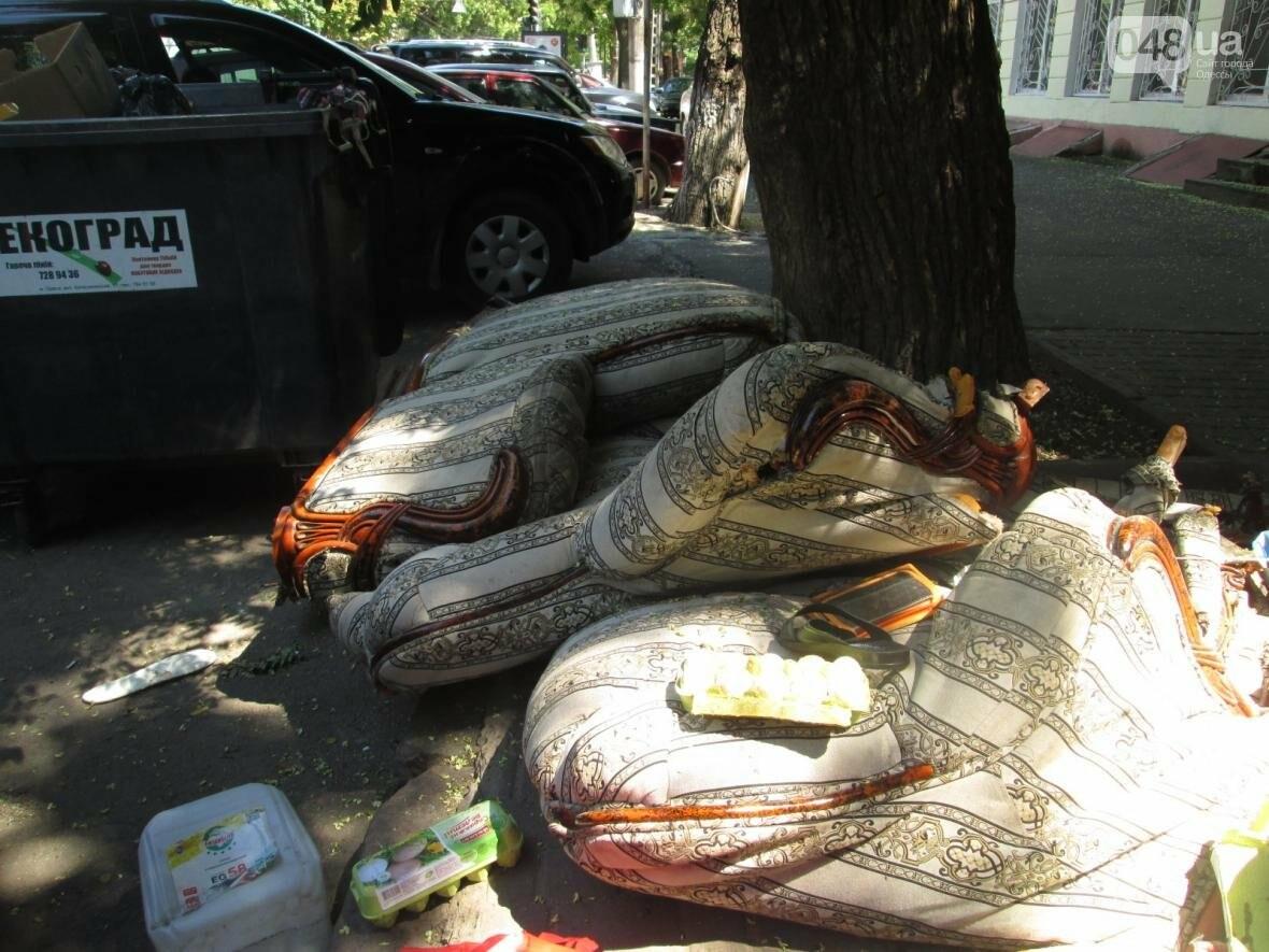 В центре Одессы обустроили эпидемиологический очаг (ФОТО), фото-6