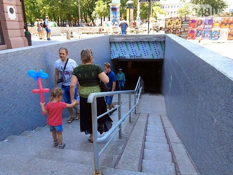Затопленный переход под Дерибасовской закрыли (ФОТО), фото-4