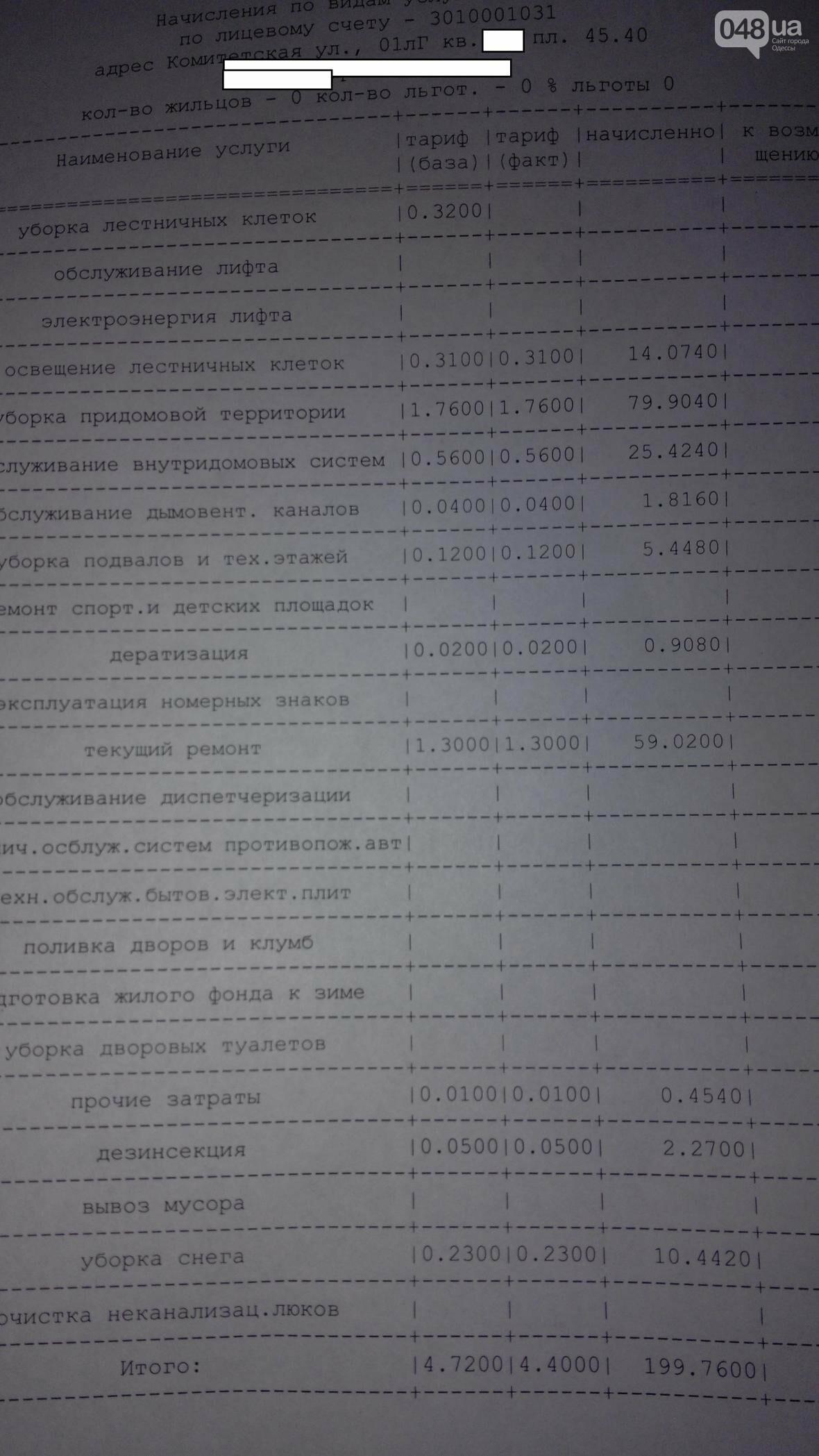 Одесситам стали начислять безумные тарифы за коммуналку (ФОТО), фото-1