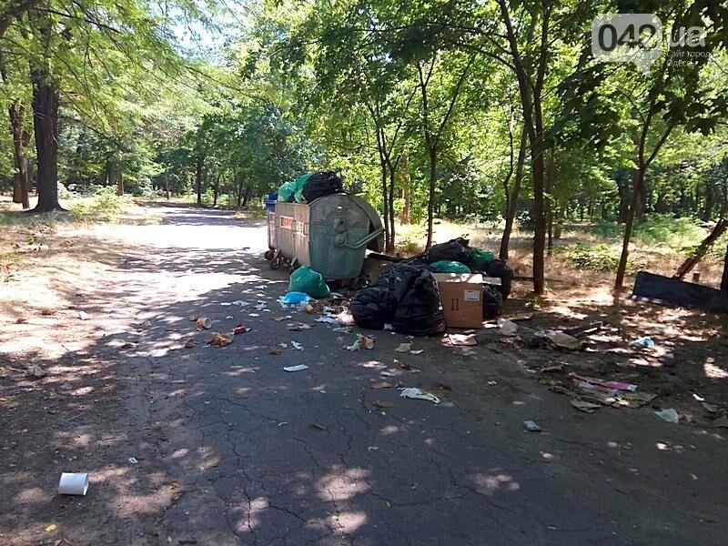 Обнаружен самый жуткий уголок одесского парка (ФОТОФАКТ), фото-4