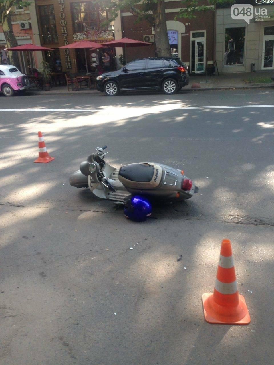 В Одессе жертву аварии оставили на дороге (ФОТО), фото-1