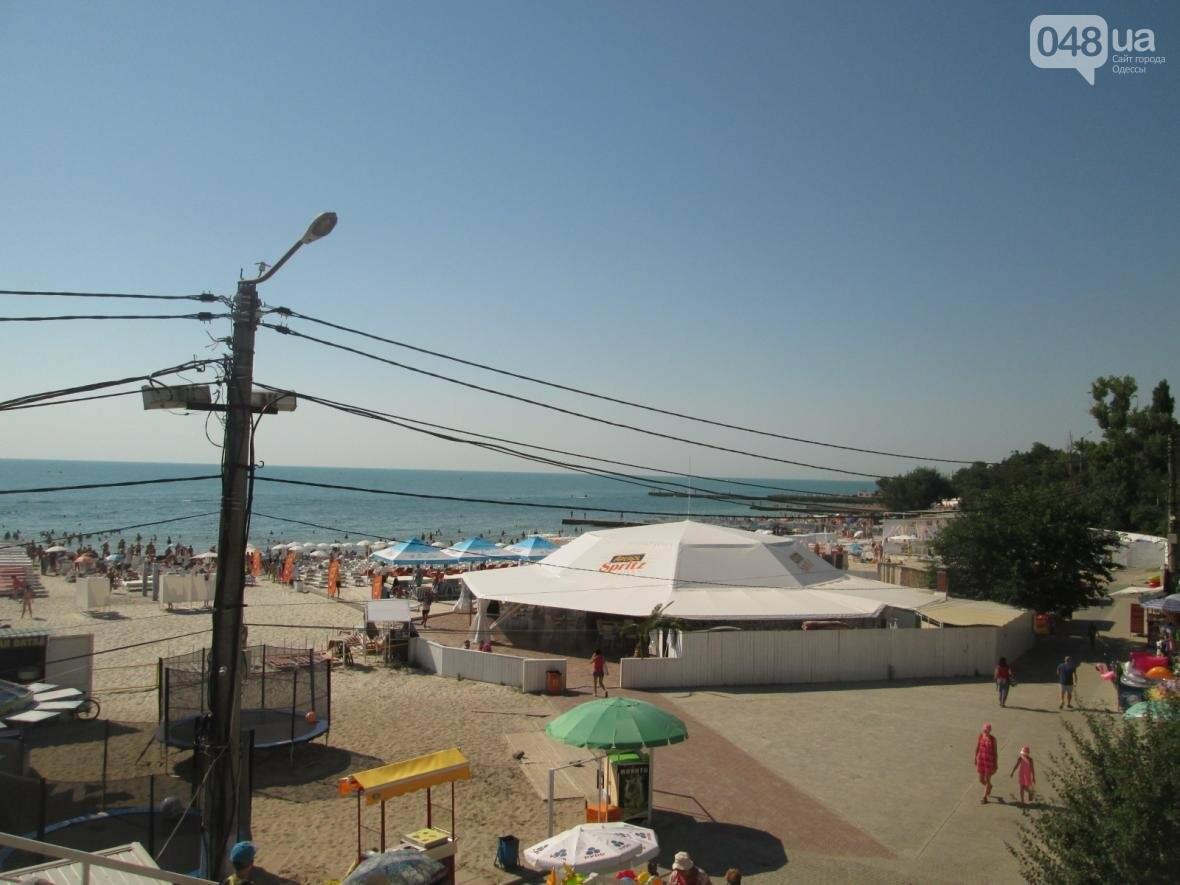 Базар, стройка и рак-отшельник: чем еще удивит одесский пляж (ФОТО), фото-1