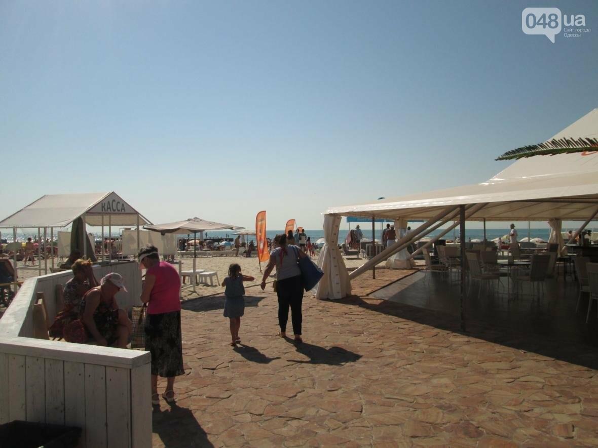 Базар, стройка и рак-отшельник: чем еще удивит одесский пляж (ФОТО), фото-2