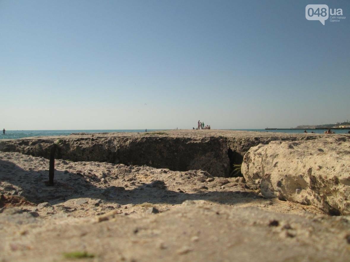 Базар, стройка и рак-отшельник: чем еще удивит одесский пляж (ФОТО), фото-17