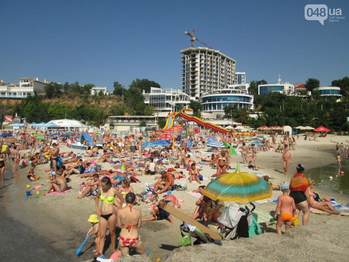 Базар, стройка и рак-отшельник: чем еще удивит одесский пляж (ФОТО), фото-3