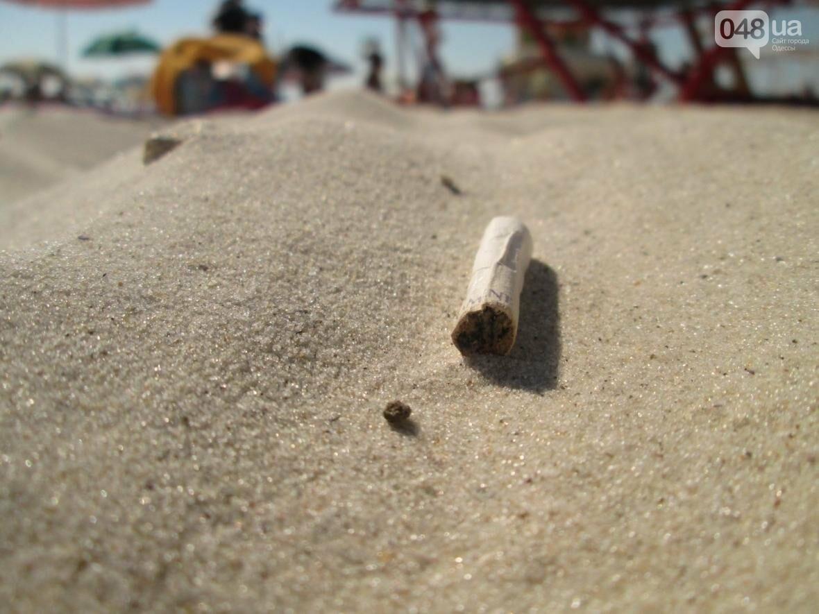Базар, стройка и рак-отшельник: чем еще удивит одесский пляж (ФОТО), фото-13