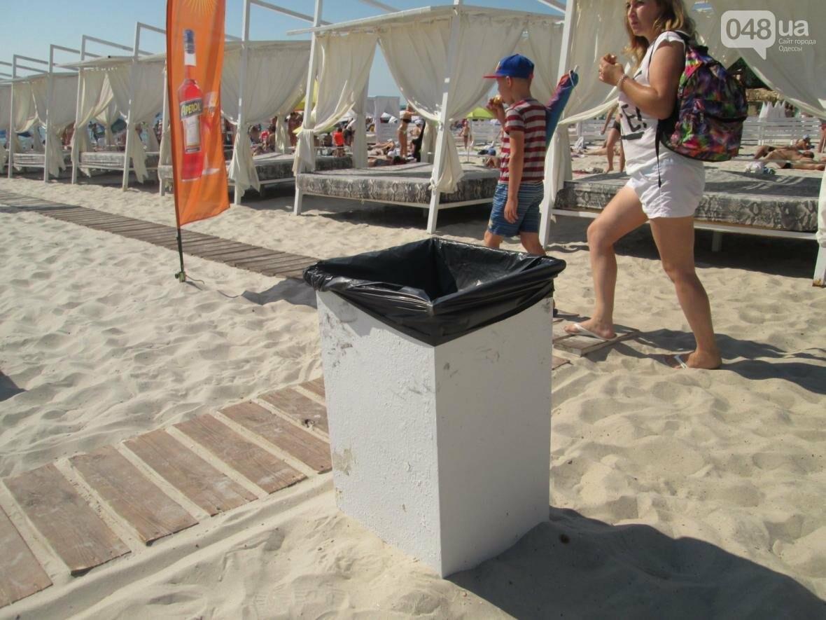 Базар, стройка и рак-отшельник: чем еще удивит одесский пляж (ФОТО), фото-14