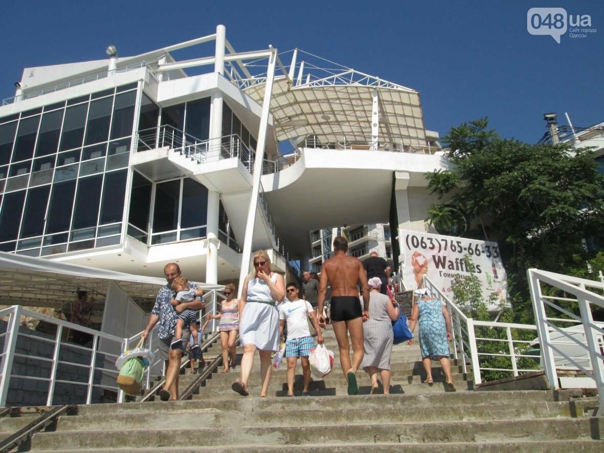 Базар, стройка и рак-отшельник: чем еще удивит одесский пляж (ФОТО), фото-4