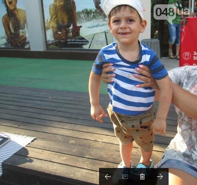 В Одессе прохожие подобрали потерявшегося ребенка (ФОТО), фото-1