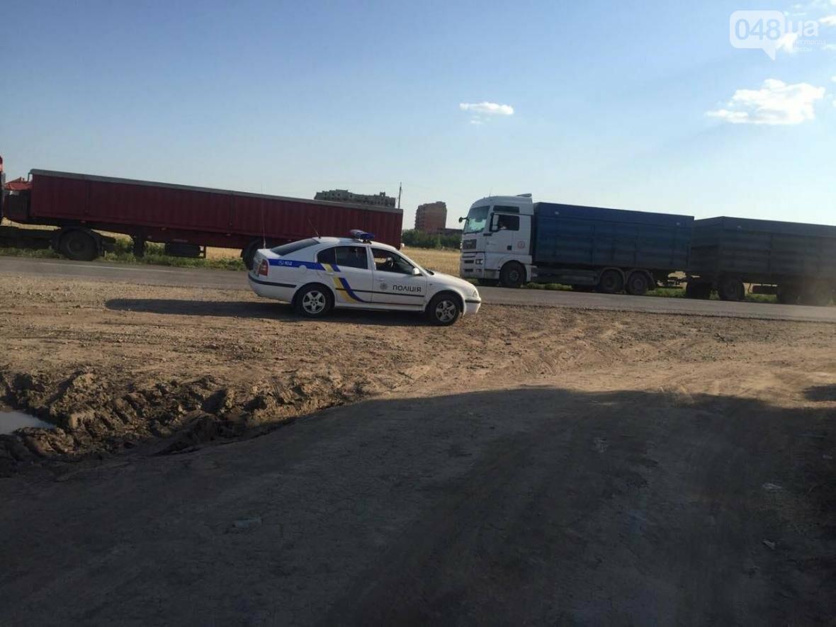 Из-за километров стоящих фур одесситы въезжают в город по полям (ФОТО), фото-4