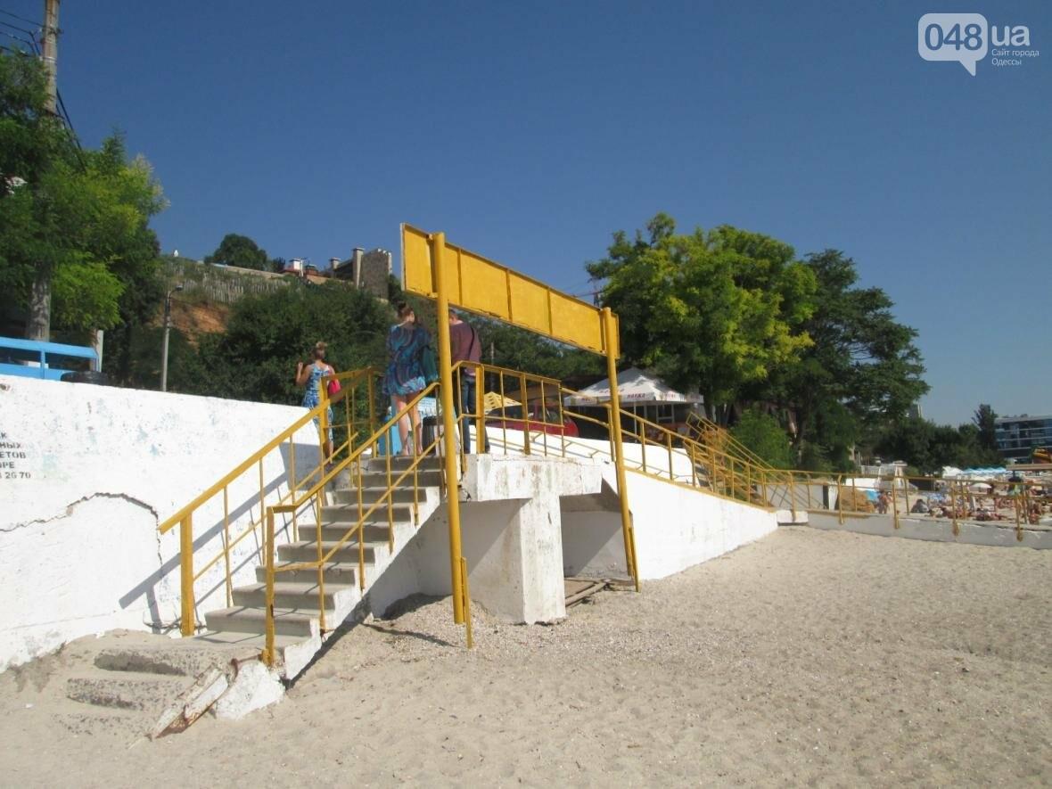 Бесплатные шезлонги и шумная стройка: Одесский пляж огорчил и удивил (ФОТО), фото-11