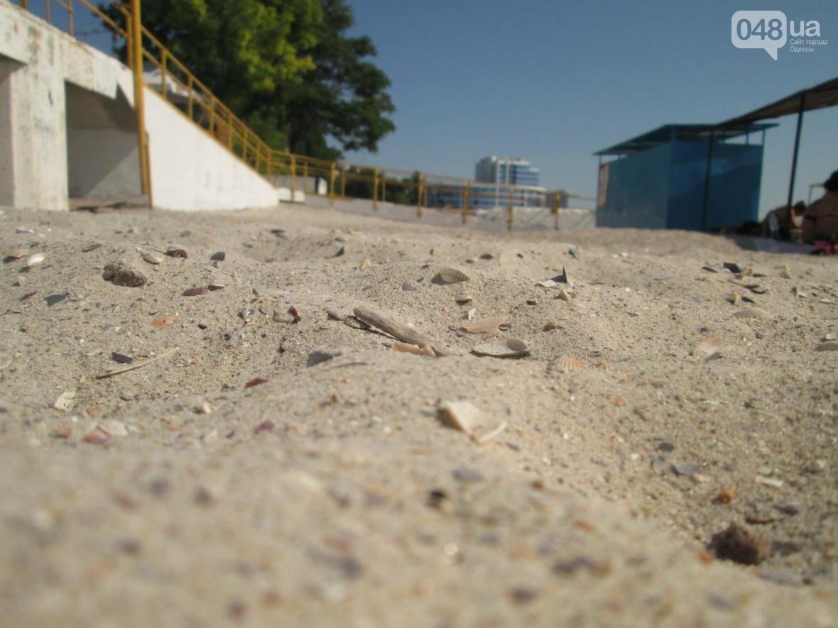 Бесплатные шезлонги и шумная стройка: Одесский пляж огорчил и удивил (ФОТО), фото-6