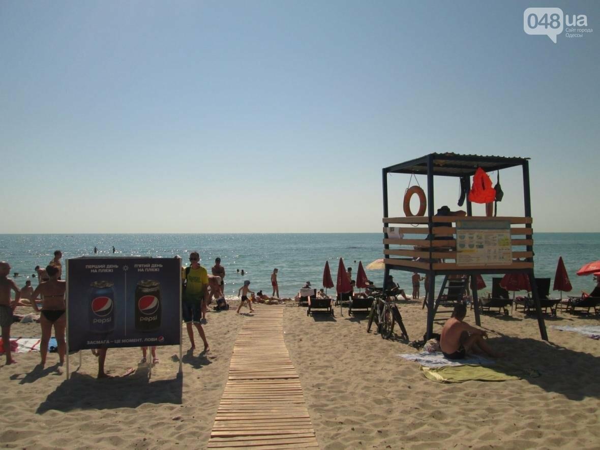 Бесплатные шезлонги и шумная стройка: Одесский пляж огорчил и удивил (ФОТО), фото-5