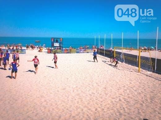 На одесском Фонтане открыли Центр пляжных видов спорта: приходи поиграть (ФОТО), фото-1