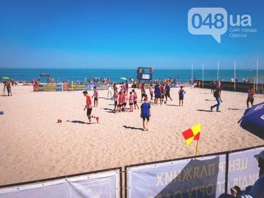 На одесском Фонтане открыли Центр пляжных видов спорта: приходи поиграть (ФОТО), фото-2