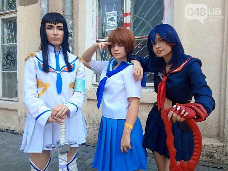 В Одессе проходит аниме-фестиваль и по улицам ходят косплейеры (ФОТО), фото-2