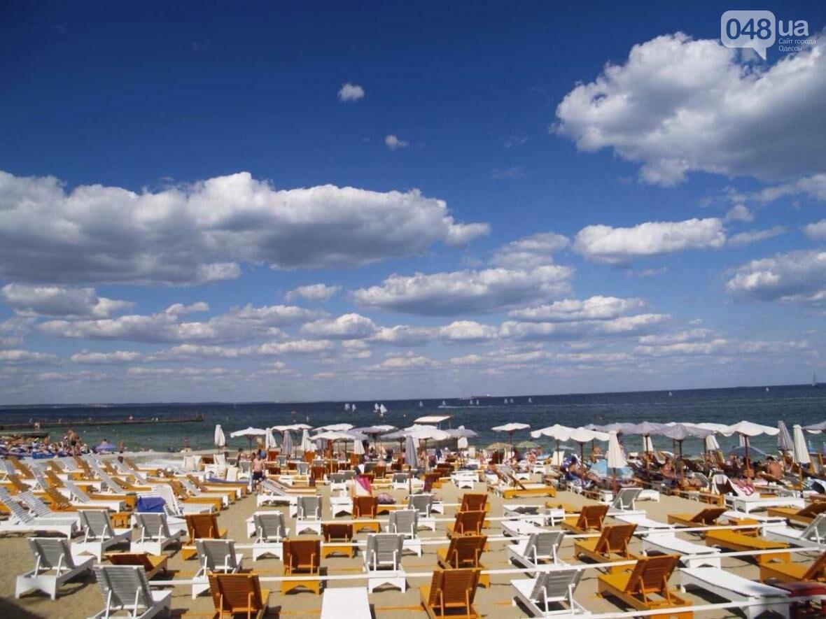 Одесский пляж  «Отрада» - райский уголок на берегу Черного моря, фото-1