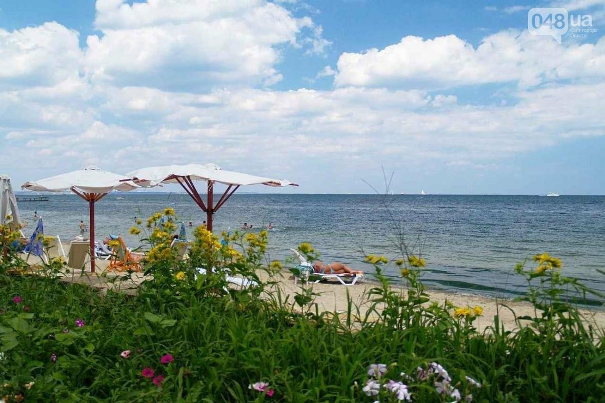 Одесский пляж  «Отрада» - райский уголок на берегу Черного моря, фото-9