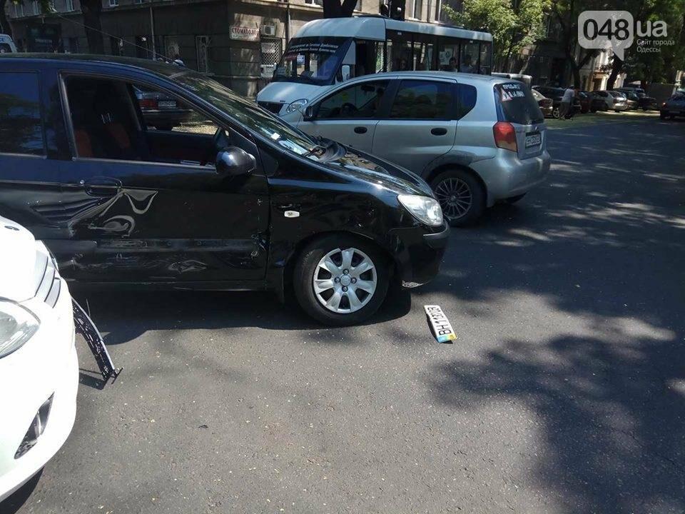 В центре Одессы Мерседес протаранил гостей из Донецка (ФОТО), фото-2