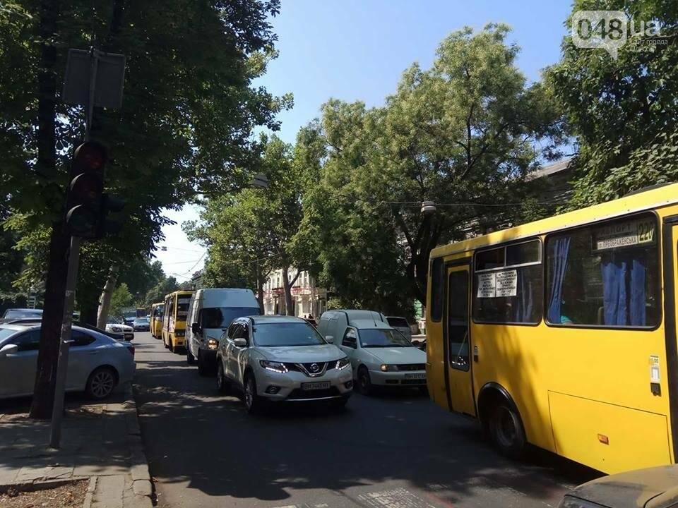 В центре Одессы Мерседес протаранил гостей из Донецка (ФОТО), фото-3